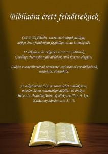 Biblia óra