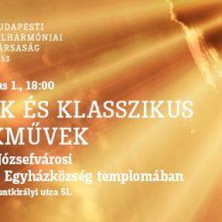 A Budapesti Filharmóniai Társaság koncertje a Szentkirályi utcában
